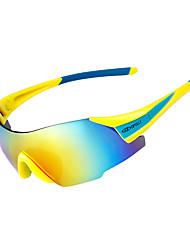 Недорогие -красочные велосипедные самокаты солнцезащитные очки на открытом воздухе ультрафиолетовые прозрачные линзы оправы-линзы поляризованные линзы