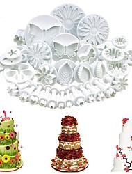 Недорогие -33 пластик Милый Печенье Для торта Животный принт Stamper & Scraper Формы для нарезки печенья Инструменты для выпечки