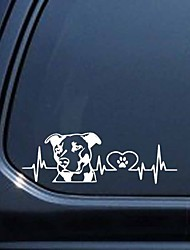 cheap -Dog Patttern Love Car Styling Car Sticker Decoration