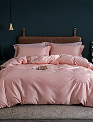 cheap -Duvet Cover Solid Colored Cotton Yarn Dyed 1 PieceBedding Sets