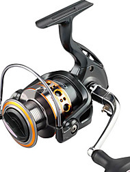 cheap -Fishing Reel Spinning Reel 5.2:1 Gear Ratio+10 Ball Bearings Hand Orientation Exchangable Sea Fishing / Spinning / Jigging Fishing - WO2000 / Freshwater Fishing / Bass Fishing / Lure Fishing