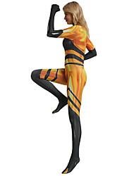 Недорогие -Божья коровка Инвентарь Жен. Косплей из фильмов На каждый день Желтый трико / Комбинезон-пижама