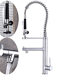 cheap -Kitchen faucet - Single Handle One Hole Multi-Ply Tall / High Arc Other Contemporary Kitchen Taps