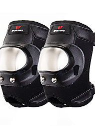 cheap -Knee Brace for Mountain Bike / MTB / Ski / Snowboard / Cross-Country Unisex Shockproof / Protection / Easy dressing Mountain Bike / Motorcycle Stainless steel / PU (Polyurethane) / EVA 1 Pair Black