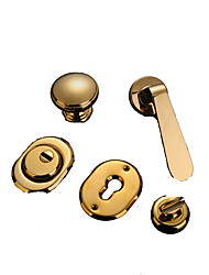 cheap -HSQ-02 Door Levers Mechanical key Stainless Steel