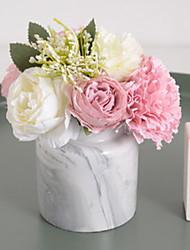 cheap -Artificial Flowers 1 Branch Classic Modern Eternal Flower Vase Tabletop Flower