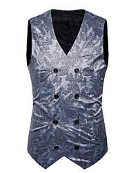 cheap -Polyester Wedding Vests Print