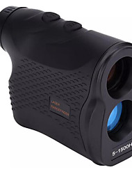 cheap -LR1500H 1500m Digital Laser Rangefinder Distance Meter Handheld Monocular Golf Hunting Range Finder Speed Angle Height Measurement