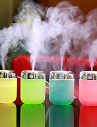 cheap -1Pc Usb Powered Air Humidifier To Eliminate Static Cleaning Air Care Skin Nano Spray Technology Mute Design 7 Lights Car Office Night Light Small Fish Mouth Oblique Spray Design Atomizing Humidifier
