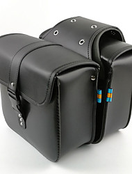 abordables -garnitures de moto remonter le sac de sac à main en cuir de sacoches en cuir de côté pour le sac de croiseur