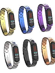 Недорогие -Модный ремешок для часов из нержавеющей стали для Xiaomi Mi Band 4