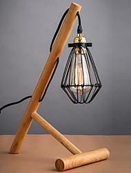Недорогие -Настольная лампа Новый дизайн Художественный / Современный современный Назначение Спальня / В помещении Дерево / бамбук 110 Вольт