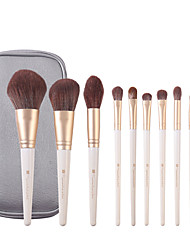 cheap -Professional Makeup Brushes 10pcs Cute Soft New Design Comfy Wooden / Bamboo for Makeup Brush