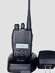 cheap -PX-777 5W 10KM 400~470MHz Rechargeable Walkie Talkies with Backlighted LCD (110~120V AC)