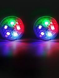 cheap -2pcs/set 5LED Car Door Opening Warning Lamp Safely Flash Lights Waterproof Signal Light