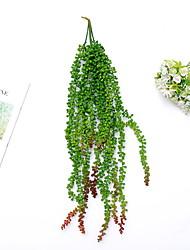 Недорогие -Искусственные Цветы 10 Филиал С креплением на стену Modern Pастений Цветы на стену