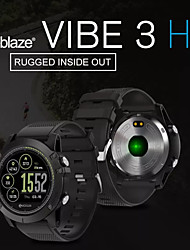 cheap -Zeblaze VIBE3 HR Men Women Smartwatch Android iOS Bluetooth Heart Rate Monitor Sports Exercise Record Information Camera Control Pedometer Call Reminder Find My Device