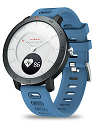 cheap -Zeblaze HYBRID Smart Watch BT Fitness Tracker Support Heart Rate/Blood Pressure Monitor Real-time Weather Dual Modes Mechanical Hands Smartwatch