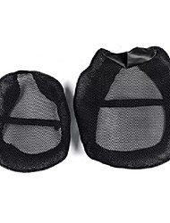 cheap -Motorcycle Black Front&Rear Seat Net Covers Pad Guard Breathable For BMW R1200GS ADV 2006-2012/2013-2018