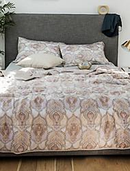 abordables -Confortable - 2 x Taies d'oreiller brodées Eté Polyester Géométrique
