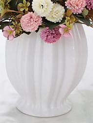 cheap -1pc Vases & Basket Irregular shape Ceramic Table Vase