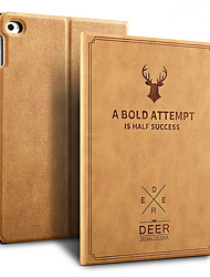 cheap -New iPad 9.7 inch 2017 2018 Air 1 2 Auto Sleep Smart Cover Deer Pattern PU Leather Soft silicone Case with Pencil Holder