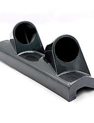Недорогие -двойное отверстие правая сторона 52 мм автомобиль из углеродного волокна столба метр метр держатель