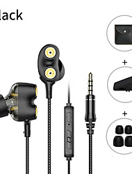 cheap -Langsdom D2 Wired In-ear Earphone Wired Earbud Stereo