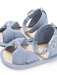 cheap -Girls' First Walkers / Children's Day Canvas Sandals Infants(0-9m) / Toddler(9m-4ys) White / Black / Blue Summer
