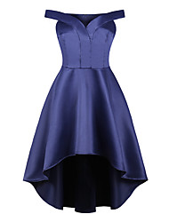 cheap -Audrey Hepburn Retro Vintage 1950s Dress Masquerade Women's Costume Ink Blue / LightBlue Vintage Cosplay Party Sleeveless