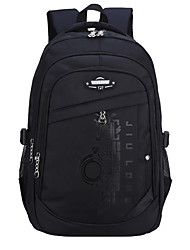 cheap -Large Capacity Oxford Cloth Nylon Zipper School Bag Color Block Daily Black / Yellow / Blue