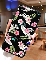 cheap -Case For Apple iPhone XS / iPhone XR / iPhone XS Max Ultra-thin / Pattern Back Cover Animal / Flower TPU