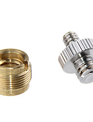 cheap -CAMVATE Mic Stand Screw Adapter 3/8 Female to 5/8 Male & Double-ended Screw 1/4 Male to 3/8 Male C1071
