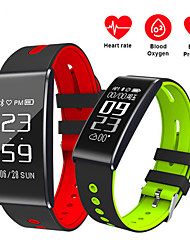 cheap -S13 Smart band Blood pressure oxygen monitor Smart wristband with heart rate monitor Fitness Smart bracelet