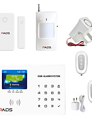 cheap -Wireless Color Screen GSM Alarm System Home Security Monitor