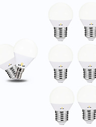 cheap -10pcs 5 W LED Globe Bulbs 450 lm E14 E26 / E27 G45 12 LED Beads SMD 2835 Decorative Warm White Cold White 220-240 V 110-130 V