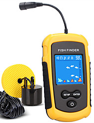 cheap -Fish Finder 1 pcs 39.9796 mm LCD 100 m Sensor High Resolution G-Sensor AAA Battery Freshwater Fishing