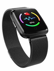 Недорогие -E04 умные часы ip67 водонепроницаемый фитнес-браслет монитор сердечного ритма браслет фитнес-трекер мужчины женщины smartwatch спортивные часы
