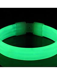 Недорогие -огни безопасности / LED браслет для бега Компактный размер для Походы / туризм / спелеология / Велосипедный спорт / Восхождение Белый / Красный / Синий Батарея