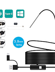 cheap -3.9MM 3 in 1 Android Endoscope Camera IP67 Waterproof Snake Camera with 6 Led Lights