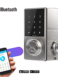cheap -Bluetooth Smart Door Lock APP Open Door Remote Send Password Indoor Door Lock Security Door Lock Rental Room