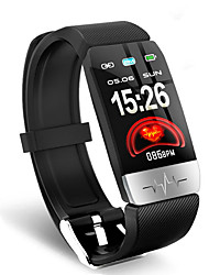 cheap -Q1S Smart Wristband BT Fitness Tracker Support Notify & Heart Rate Monitor Compatible Iphone/Samsung/Android Phones