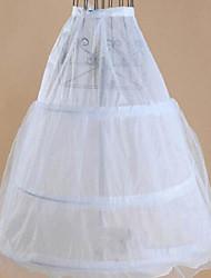cheap -Wedding Slips Acrylic / Tulle Tea-Length Basic with Lace-up