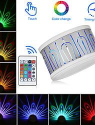 Недорогие -2pcs Декоративное освещение / LED Night Light / Проектор огни Цветной Дистанционно управляемый / Диммируемая / Новый дизайн 5 V
