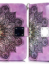 cheap -Case For Samsung Galaxy A6 (2018) Galaxy A7(2018) Phone Case PU Leather Material Metal Hijab 3D Colorful Phone Case for Samsung Galaxy A10 A20 A8 2018