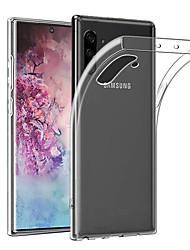 Недорогие -тонкий прозрачный мягкий чехол для телефона Samsung Galaxy Note 10 плюс примечание 10 примечание 9 примечание 8 ультратонкий чехол