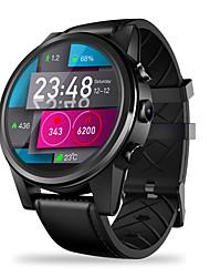 abordables -zeblaze thor 4 montre intelligente 600mah bt suivi de la forme avec le support gps 4g / wifi et informer le téléphone androïde smartwatch