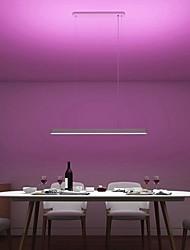 abordables -d'origine xiaomi yeelight météorite led smart dîner pendentif lumières intelligent restaurant lustre travailler avec pour mi home app