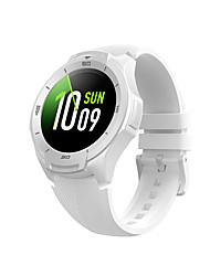 abordables -TicWatch TicWatch S2 Hommes femmes Montre Connectée Android iOS Wi-Fi Bluetooth Imperméable Ecran Tactile GPS Moniteur de Fréquence Cardiaque Mesure de la pression sanguine ECG + PPG Minuterie