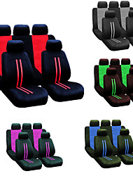 cheap -9pcs/set Universal Car Seat Cover Four Seasons Full Seat Cover Protector Decoration